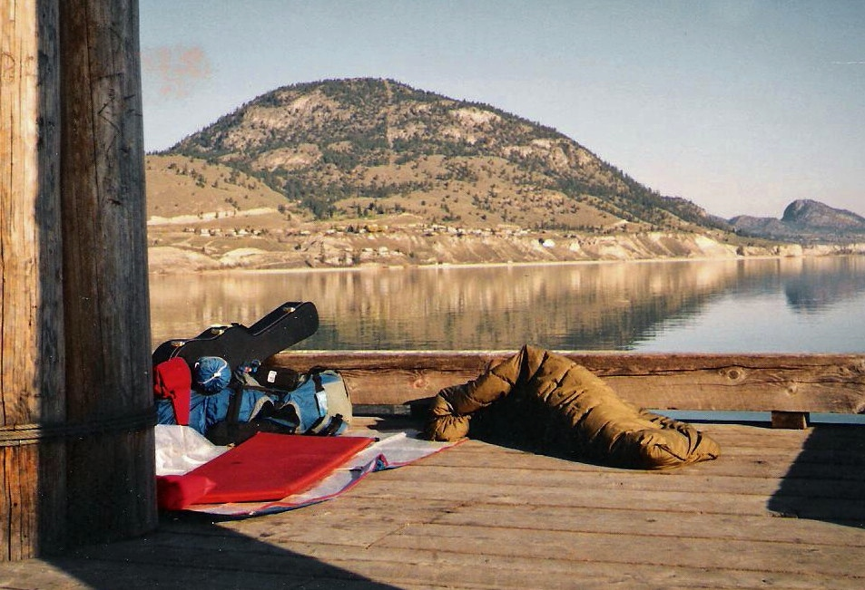 1991 photo gallery - Penticton hitching days