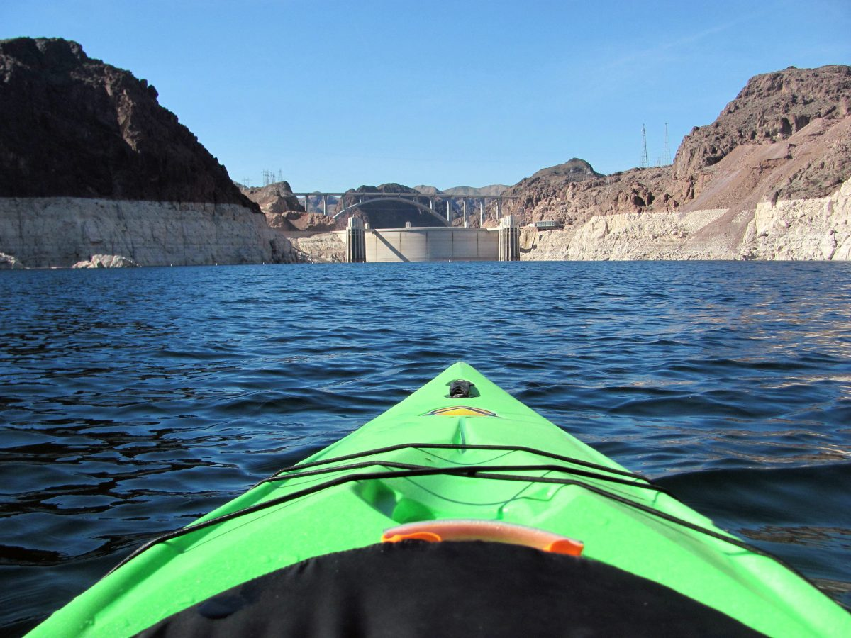 Lake Mead at Hoover Dam 2016