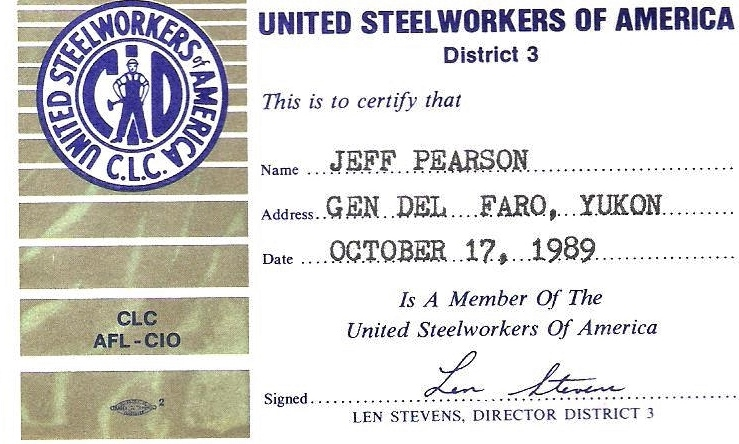 United Steelworkers of America 1989